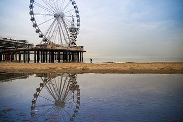 Het Reuzenrad op de pier van Petra Brouwer