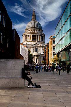 Straßenkünstler, London