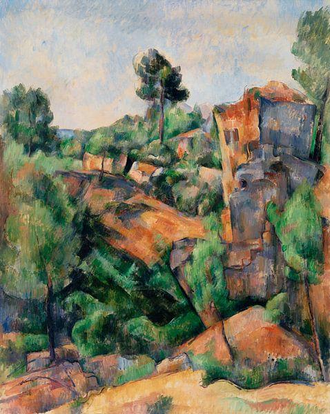 Cézanne, Bibémus (ca. 1895) von Atelier Liesjes