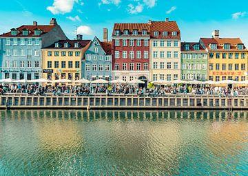 Stadslandschap van Kopenhagen