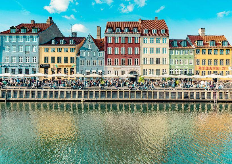Stadslandschap van Kopenhagen van Tomasz Baranowski