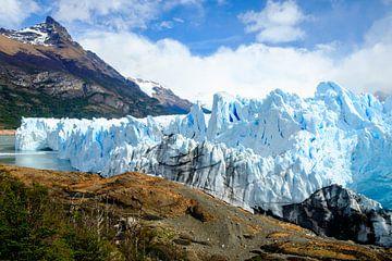 Perito Moreno-gletsjer in buitenaards landschap van Geert Smet
