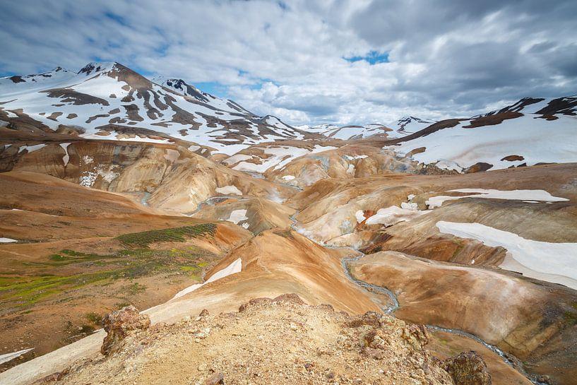 Kerlingarfjöll het binnenland van IJsland van Menno Schaefer