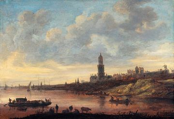 Blick auf Rhenen, Jan van Goyen