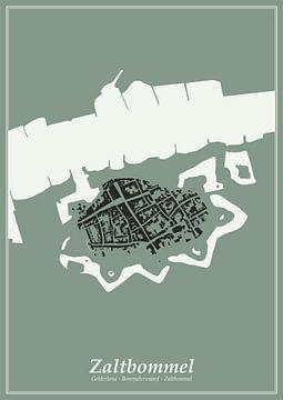 Festungsstadt - Zaltbommel von Dennis Morshuis