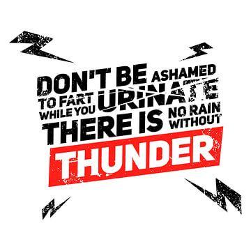 Schäme dich nicht zu furzen, während du urinierst van