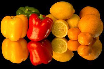 Les fruits et légumes en tant que nature morte sur Brian Morgan