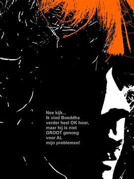 Dolende Dertigers: Boeddha Is Heel OK! van MoArt (Maurice Heuts)
