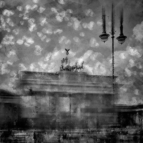 City-Art Berlin Brandenburger Tor II black & white