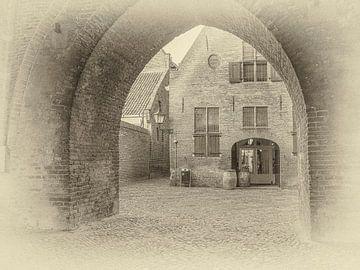 Stadspoort in de Drogenaptoren in Zutphen. van Ron Poot