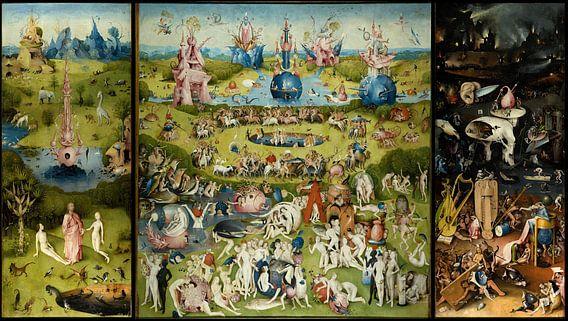 De Tuin der lusten van Jheronimus Bosch