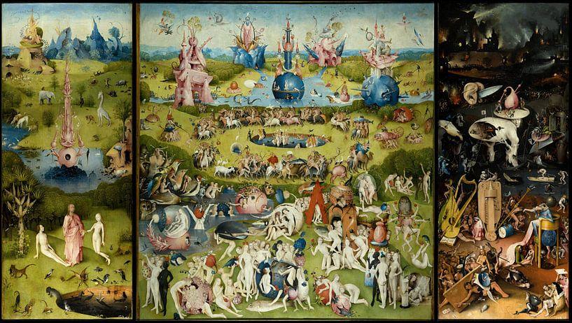 De Tuin der lusten van Jheronimus Bosch van Rebel Ontwerp