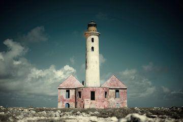Leuchtturm Klein Curcacao von Keesnan Dogger Fotografie