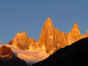 Fitz Roy, Patagonien van