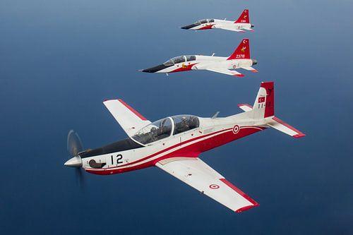 Turkse Luchtmacht KT-1 Woongbi & T-38 Talon