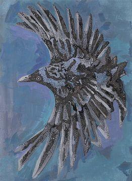 Eine Krähe von Rob Eikenaar