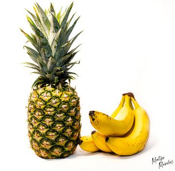 Tropisch fruit stilleven van Martijn Meinders