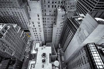 New York van bovenaf van Rob van Esch