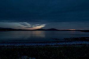Sonnenuntergang in Cahersiveen von Harry Traa