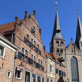 Bergkerk in Deventer van Jan Kranendonk