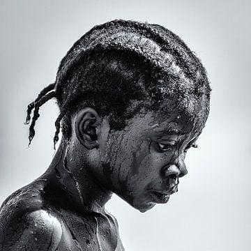 Portrait of a Malawian girl von Ipo Reinhold