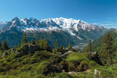 Massif du Mont-Blanc sur