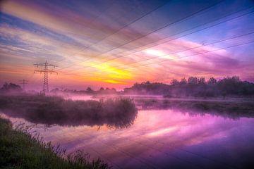 Farbenfroher Sonnenaufgang von Bianca Berger