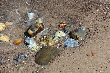 Bunte Ostseesteine von Ostsee Bilder
