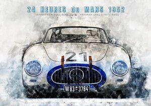 Le Mans winnaar 1952 van Theodor Decker