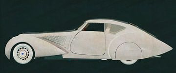 Delage D8-120 Aerosport 1938 van Jan Keteleer