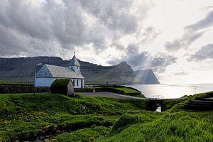 Kerk op de Faëroer Eilanden