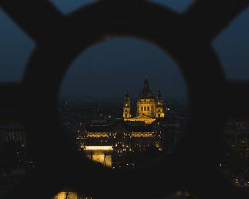 Stephanskirche am Abend von Márton Gutmayer