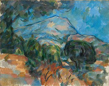 De berg Sainte-Victoire, Paul Cézanne