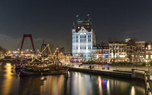 De Oudehaven en het Witte Huis in Rotterdam
