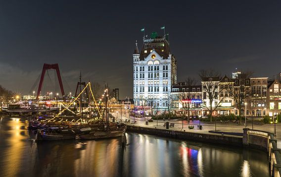 De Oudehaven en het Witte Huis in Rotterdam van MS Fotografie