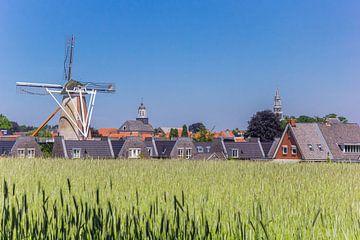 Windmühle in der Skyline von Ootmarsum von Marc Venema