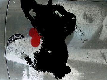 Kattenkunst - Indy 2 von MoArt (Maurice Heuts)