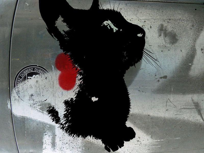 Kattenkunst - Indy 2 van MoArt (Maurice Heuts)