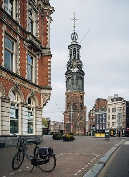 Munttoren Amsterdam van Lorena Cirstea