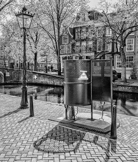 Amsterdamse 'Krul' op de Reguliersgracht in Amsterdam. van Don Fonzarelli
