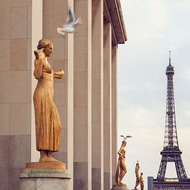 View on the Eiffeltower sur Laura Vink