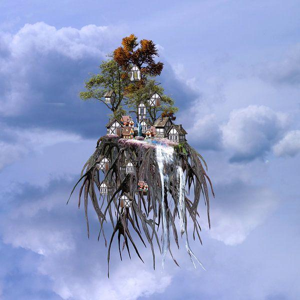 Fantasyworld van Ans van der Heide