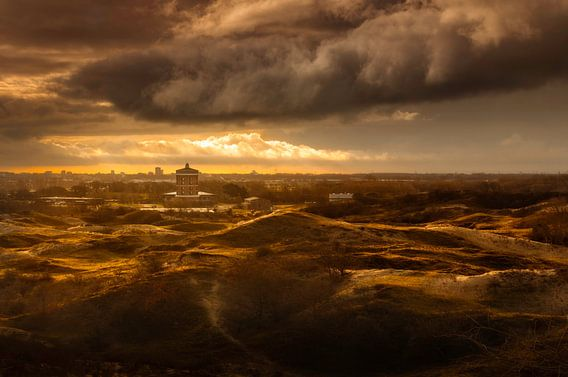 De Watertoren van Katwijk van Martijn van der Nat