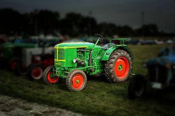 Traktor Trecker Oldtimer von Peter Roder