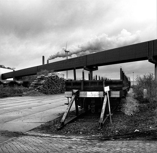Oude goederentrein Westpoort van