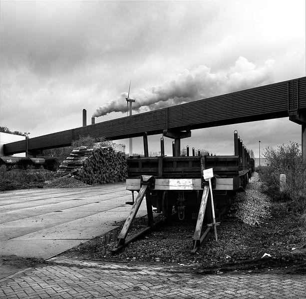 Oude goederentrein Westpoort van Marlon Mendonça Dias