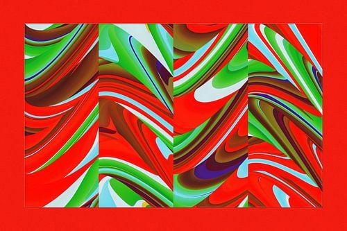 fotoGrafiek 91 (Red colored panel 3)
