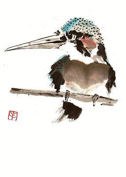 Eisvogel von Yvonne Jansen