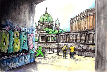 Städte-Serie 08 - Berlin von Yeon Yellow-Duck Choi