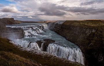 Prachtige waterval Gullfoss van Hannon Queiroz